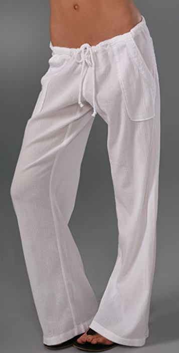 7dbf31131d C&C California Beach Gauze Relaxed Pants | SHOPBOP