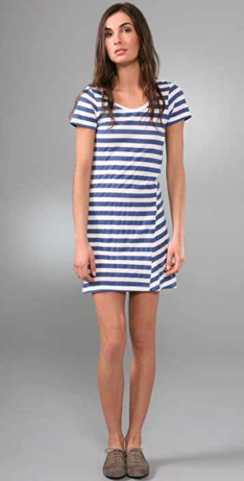 C&C California Short Sleeve Mini Dress