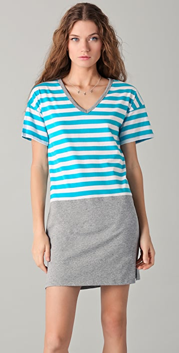 C&C California Striped Tee Dress