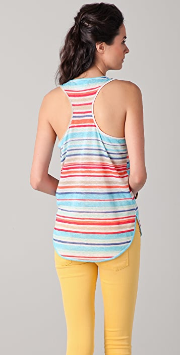 C&C California Multi Striped Tank