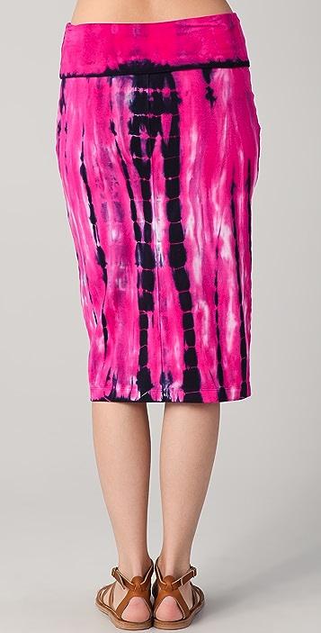 C&C California Zephyr Tie Dye Tube Skirt / Dress