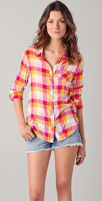 310ae7ce4c C&C California Juniper Multi Check Roll Sleeve Shirt | SHOPBOP
