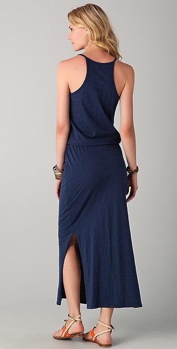 C&C California Slubbed Jersey Maxi Dress