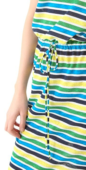 C&C California Striped Tank Maxi Dress