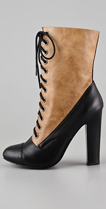 Candela Oliver High Heel Booties