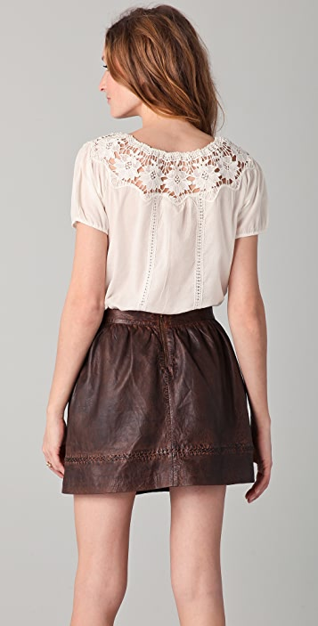 Candela Ziggy Lace Blouse