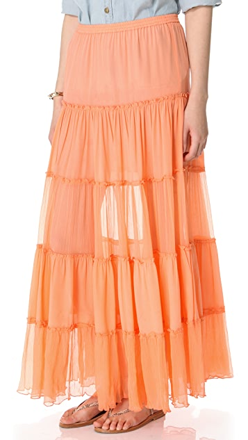 Candela Gaba Tiered Skirt