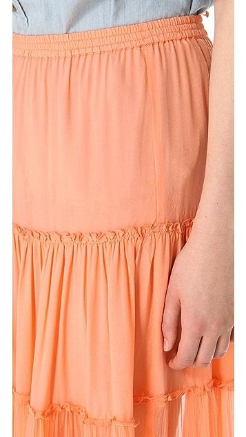 Candela Gaba Tiered Skirt