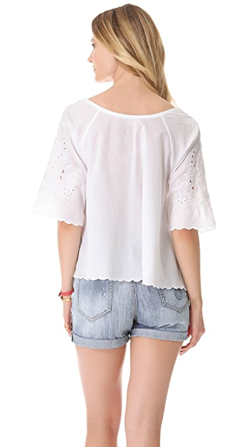 Candela Jule Embroidered Top