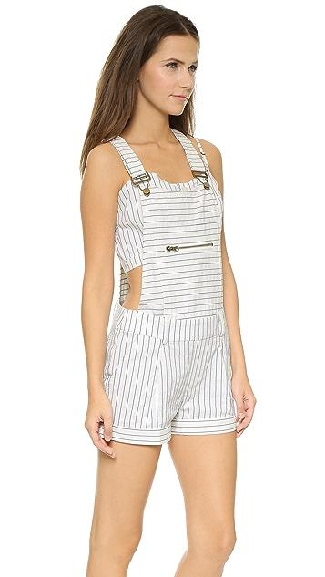 Capulet Striped Overalls