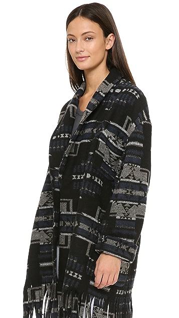 Capulet Shawl Collar Coat