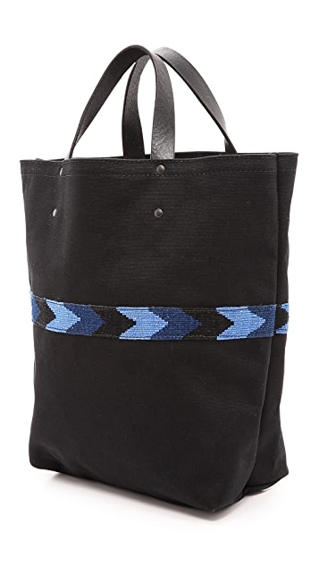 Caputo & Co. The Chevron Tote