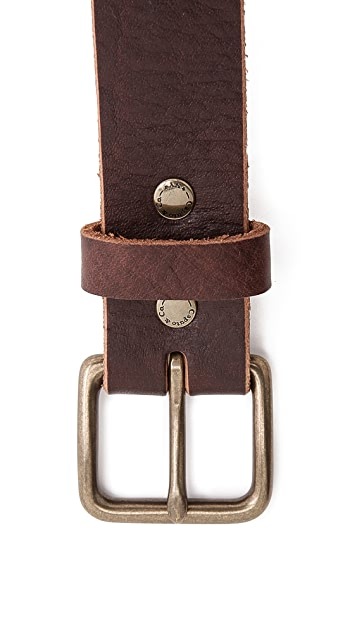 Caputo & Co. Laced Leather Belt