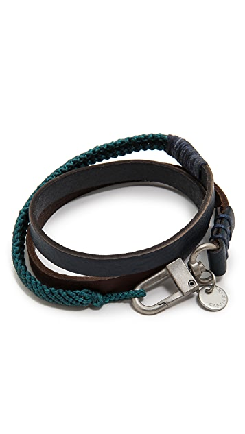 Caputo & Co. Triple Wrap Bracelet