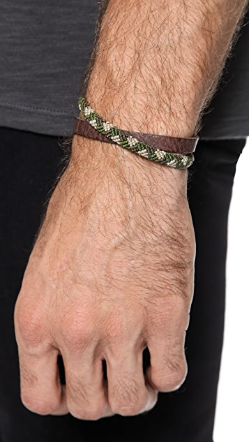 Caputo & Co. Double Wrap Bracelet