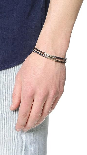 Caputo & Co. Double Braided Bracelet
