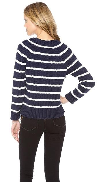 Cardigan Theo Striped Sweater