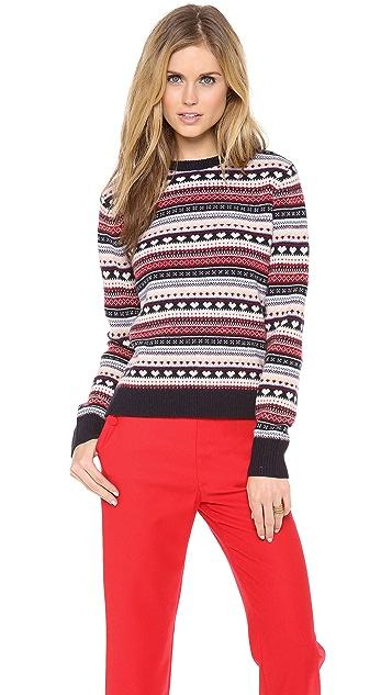 Cardigan Lolita Fair Isle Sweater