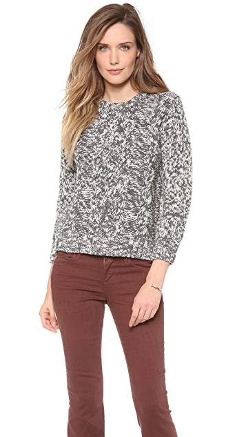 Cardigan Estelle Marled Sweater