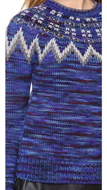 Cardigan Charlie Fair Isle Sweater