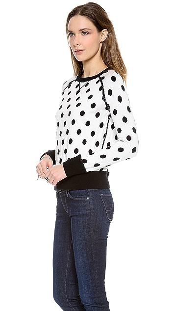 Cardigan Dot Marc Reversible Sweater