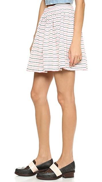 Cardigan San Cristobal Stripe Skirt