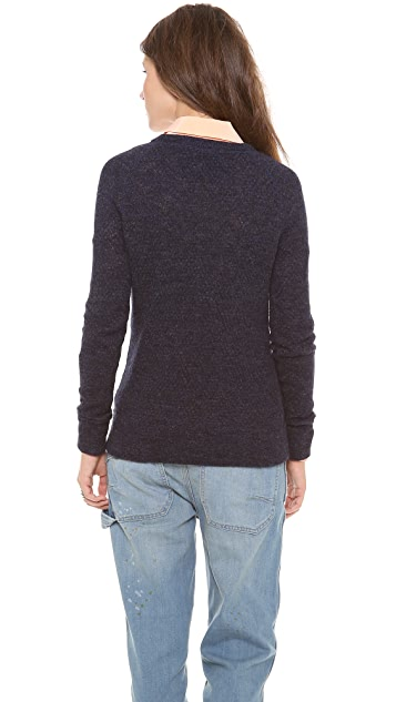 Cardigan Gabrielle Waffle Raglan Sweater