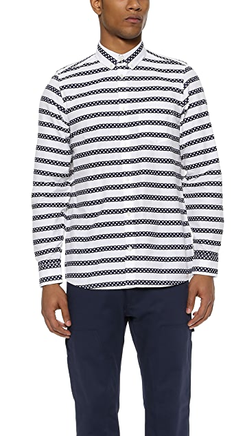 Carhartt WIP Polka Stripe Long Sleeve Shirt