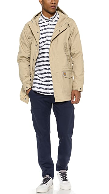 Carhartt WIP Polka Stripe Long Sleeve Shirt