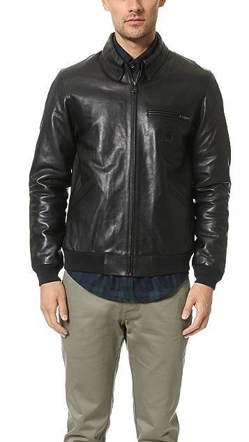 8f6df56092abf Carhartt WIP Detroit Leather Jacket ...