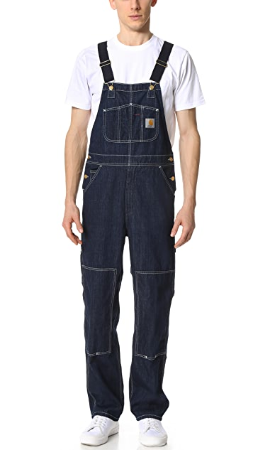 Mens Bib Overall Jeans Carhartt Work in Progress kfvJ5C1