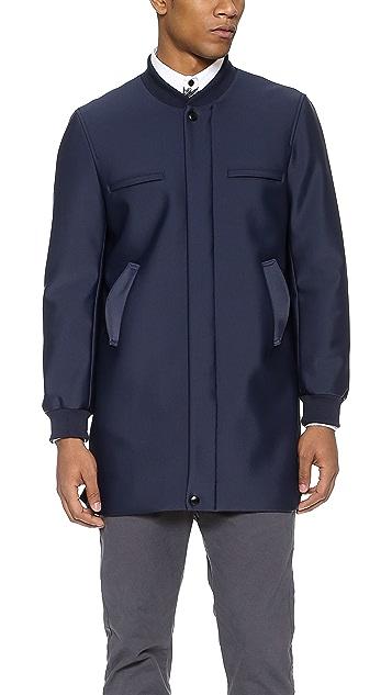 Carlos Campos Neoprene Coat