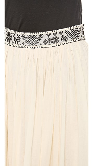 Carolina K Peasant Skirt