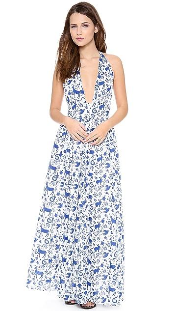Carolina K Marilyn Halter Dress