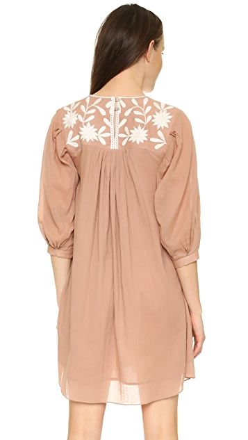 Carolina K Embroidered Dress