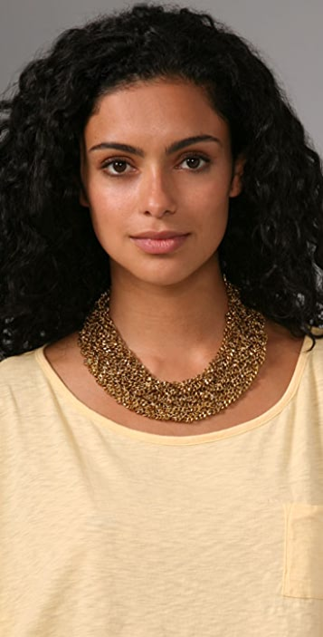Carol Marie Braided Chain Necklace