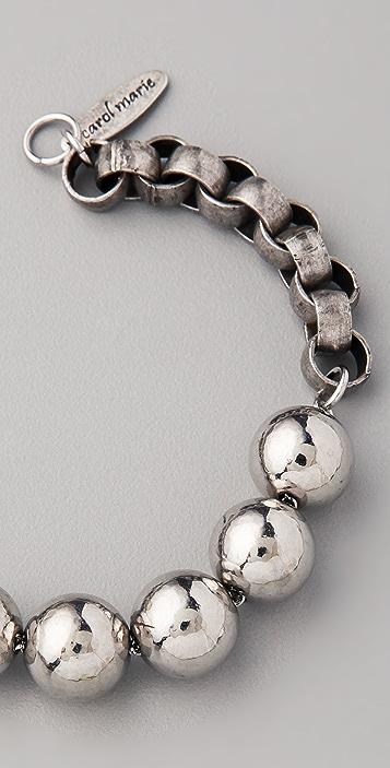 Carol Marie Ball & Chain Bracelet