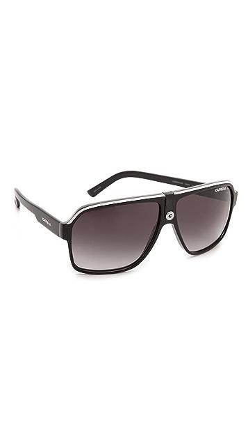 Carrera Square Aviator Sunglasses
