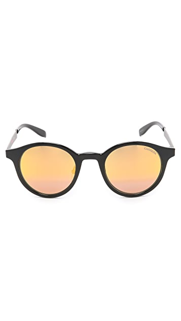 Carrera Round Frame Sunglasses