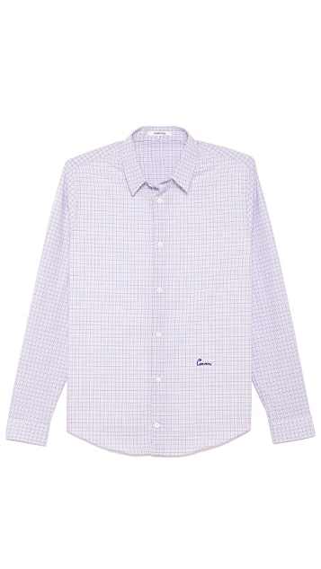 Carven Grid Check Sport Shirt