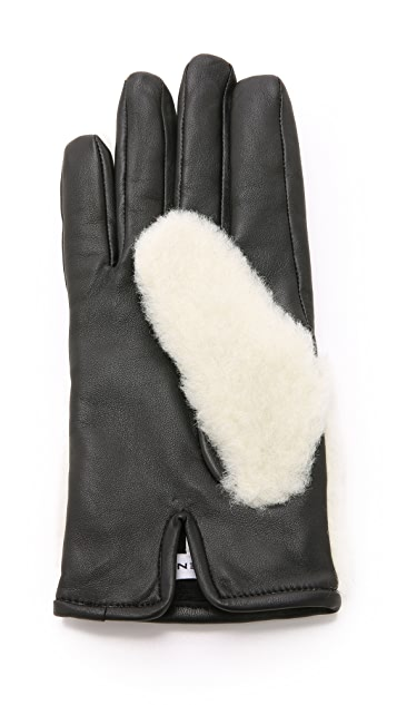 Carven Teddy Gloves