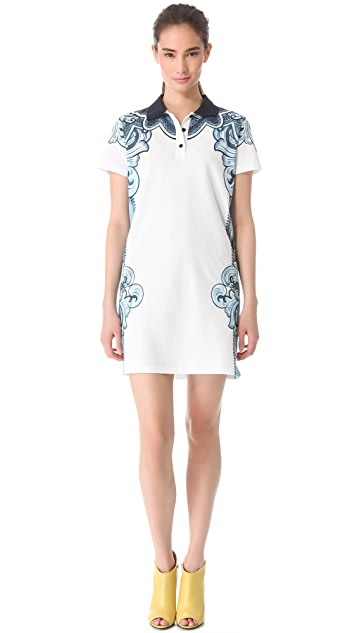 Carven Print Polo Dress