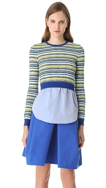 Carven Hanging Shirt Sweater