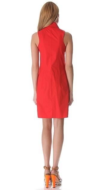 Carven Cutout Sleeveless Dress