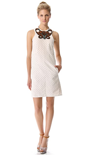 Carven Linen & Cotton Dress