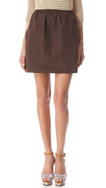Carven Cinched Waist Skirt