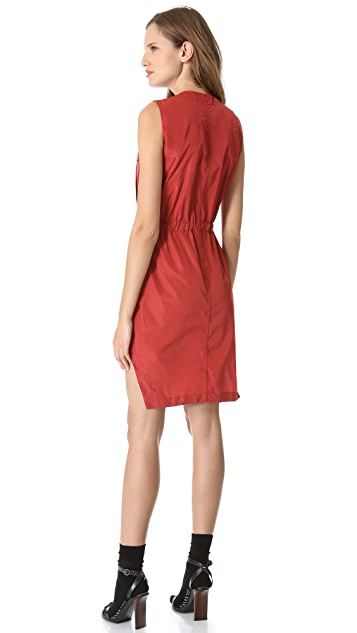 Carven Technical Sleeveless Dress