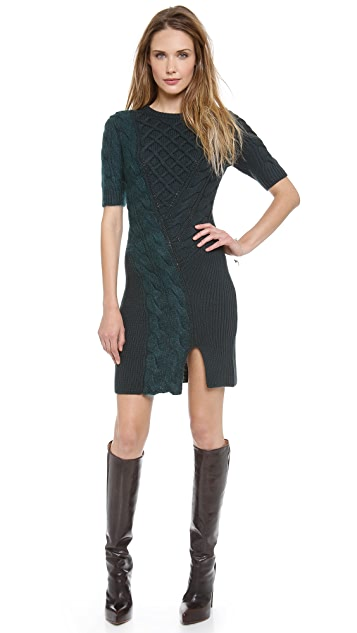Carven Twisted Knit Dress