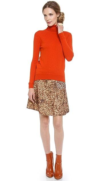 Carven Soft Turtleneck Sweater