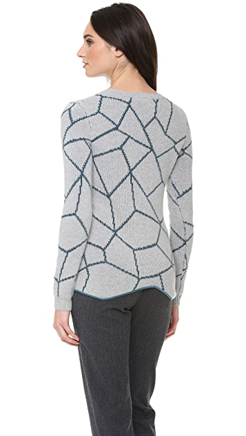 Carven Puzzle Sweater